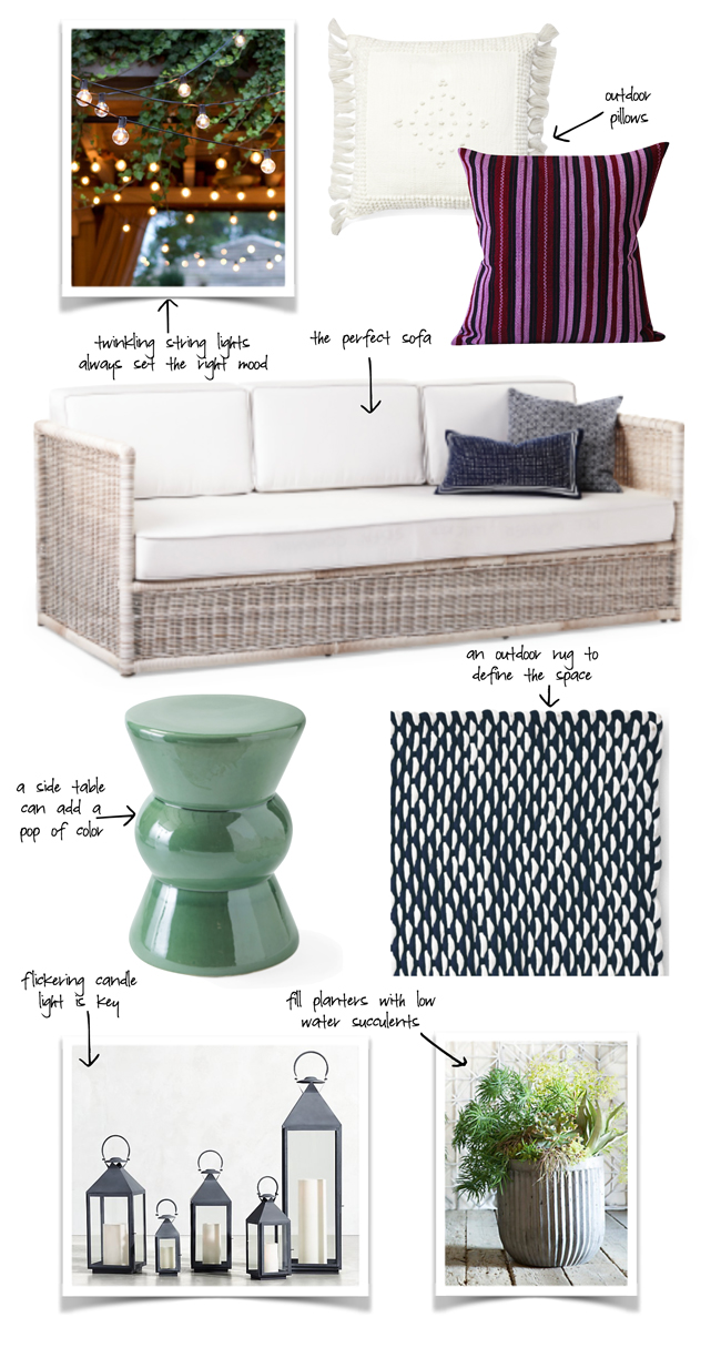 Some of my favorite pieces for Memorial Day weekend and outdoor living