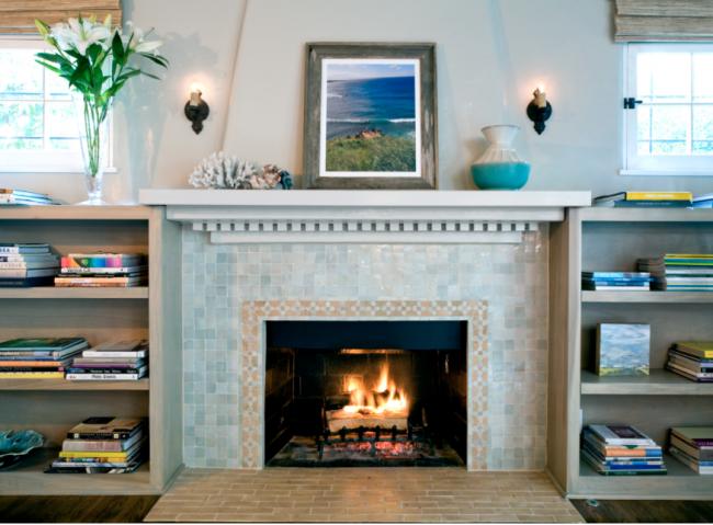 my favorite thing - fireplace detail