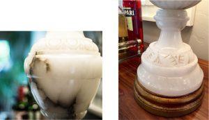 My favorite piece - vintage lamp details
