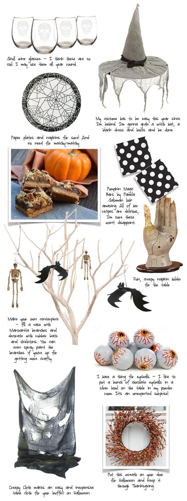 Halloween Entertaining