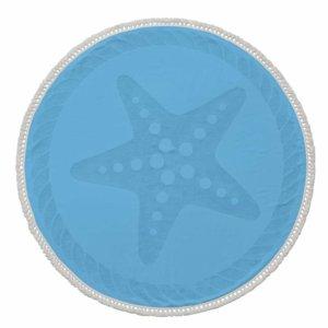 Round Starfish Beach Towel